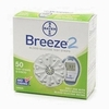 Bayer Breeze 2 Glucose Test Strips 50Ct. Nfrs Short Dated