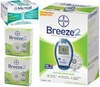 Bayer Breeze 2 Meter Kit 100 Test Strips 100 Microlets