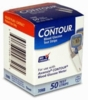 Bayer Contour Glucose Test strips 50Ct. Nfrs Short Dated
