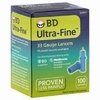 BD Ultra-Fine 33 Gauge Lancets - 100 Count Box