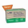 Bd Ultra-Fine Nano Pen Needle 32 G X 4 mm - Box of 90