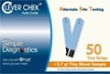 Clever Chek Auto-Code Test Strips 50 Ct.