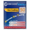 Clever Choice Auto-Code Voice + Test Strips 50ct.