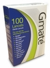 Gmate Sterile Lancets 100ct