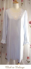 Caroline Cotton Knit Nightgown