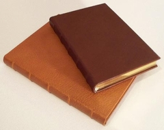 Fine Soft French Calfskin Leather Lined Hardcover Journal
