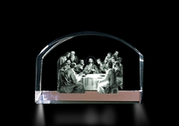 Crystal Magnifier (Last Supper)