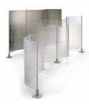 Peter Pepper Slalom Modular Partitions - Privacy and Security Screens