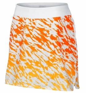 Nike | Print Pull-On Skort in Orange Horizon