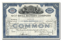 ACF-Brill Motors Company, Issued to Dreyfus & Company