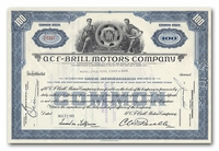 ACF-Brill Motors Company, Issued to Merrill Lynch, Pierce, Fenner & Beane