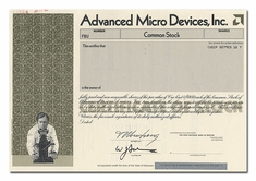 Advanced Micro Devices, Inc. (Specimen)