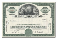 Alco Products, Incorporated