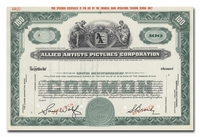 Allied Artists Picture Corporation (Specimen)