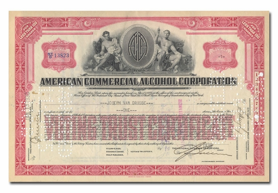 American Commercial Alcohol Corporation