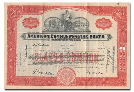 American Commonwealths Power Corporation