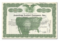 American Locker Company, Inc.