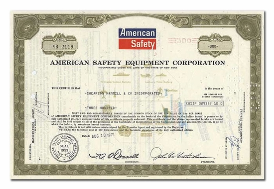 American Safety Equipment Company
