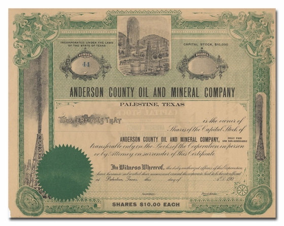 Anderson County Oil and Mineral Company
