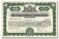 Anglo California National Bank of San Francisco