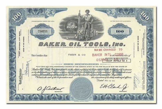 Baker Oil Tools, Inc.