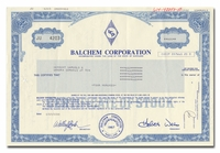 Balchem Corporation (LOT OF 7 PIECES)