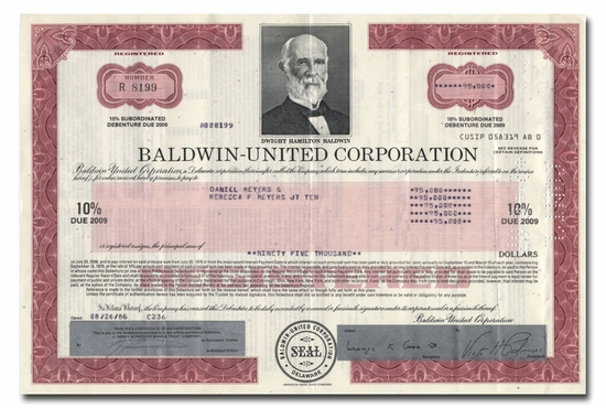 Baldwin-United Corporation