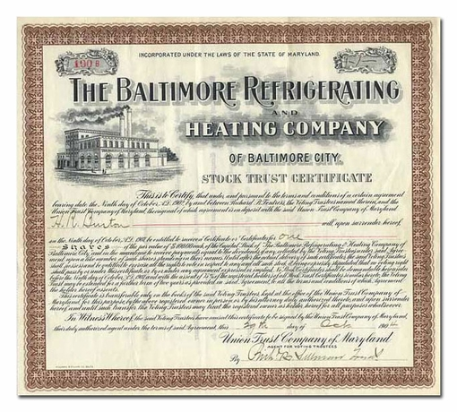 Baltimore Refrigerating and Heating Company of Baltimore City