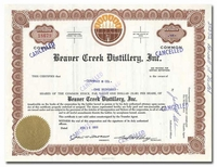 Beaver Creek Distillery, Inc.