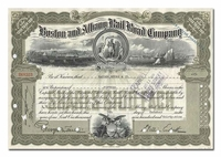 Boston and Albany Railroad Company, Issued to Hayden Stone & Company