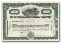 Boston Elevated Railway Company, Issued to Tucker Anthony & Company