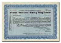 Boston-Montana Mining Corporation