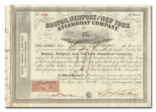 Boston, Newport and New York Steamboat Company