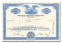 Broadcast Industries Corporation (Lot of 22 Pieces)