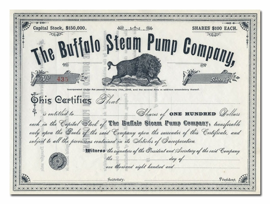 Buffalo Steam Pump Company