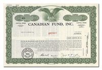 Canadian Fund, Inc. (Specimen)