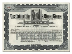 Canon City & Royal Gorge Railroad Company