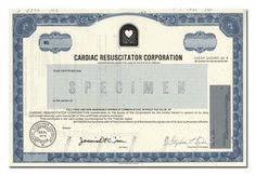 Cardiac Resuscitator Corporation (Specimen)