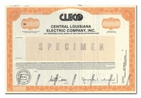 Central Louisiana Electric Company, Inc. (Specimen)