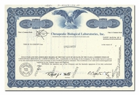 Chesapeake Biological Laboratories, Inc. (Specimen)