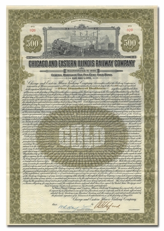 Chicago & Eastern Illinois Railway Company