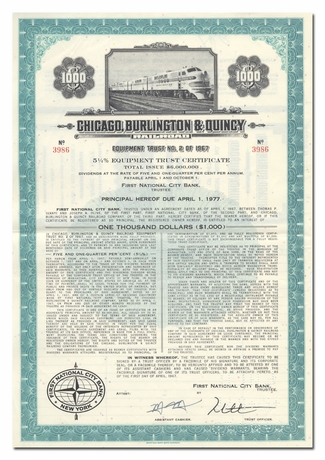 Chicago, Burlington & Quincy Railroad Company