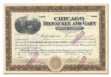 Chicago, Milwaukee and Gary Railway Company