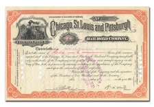 Chicago, St. Louis and Pittsburgh Railroad Company