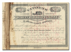 Citizens Street Railroad Company