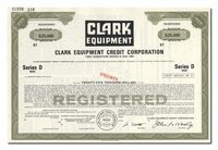 Clark Equipment Credit Corporation (Specimen)