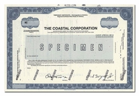 Coastal Corporation (Specimen)