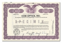 Com-Optics, Inc. (Specimen)