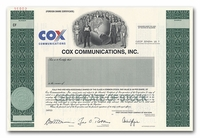 Cox Communications, Inc. (Specimen)