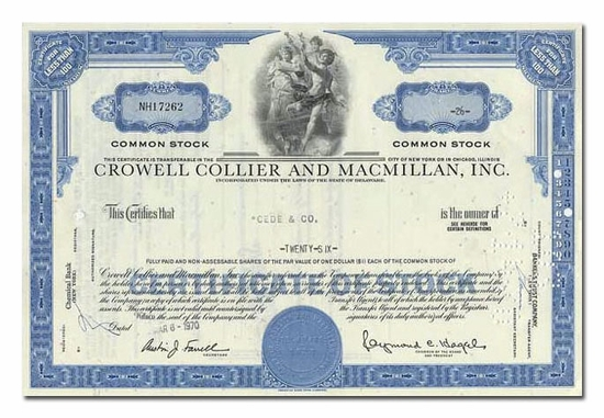 Crowell Collier and MacMillan, Inc.